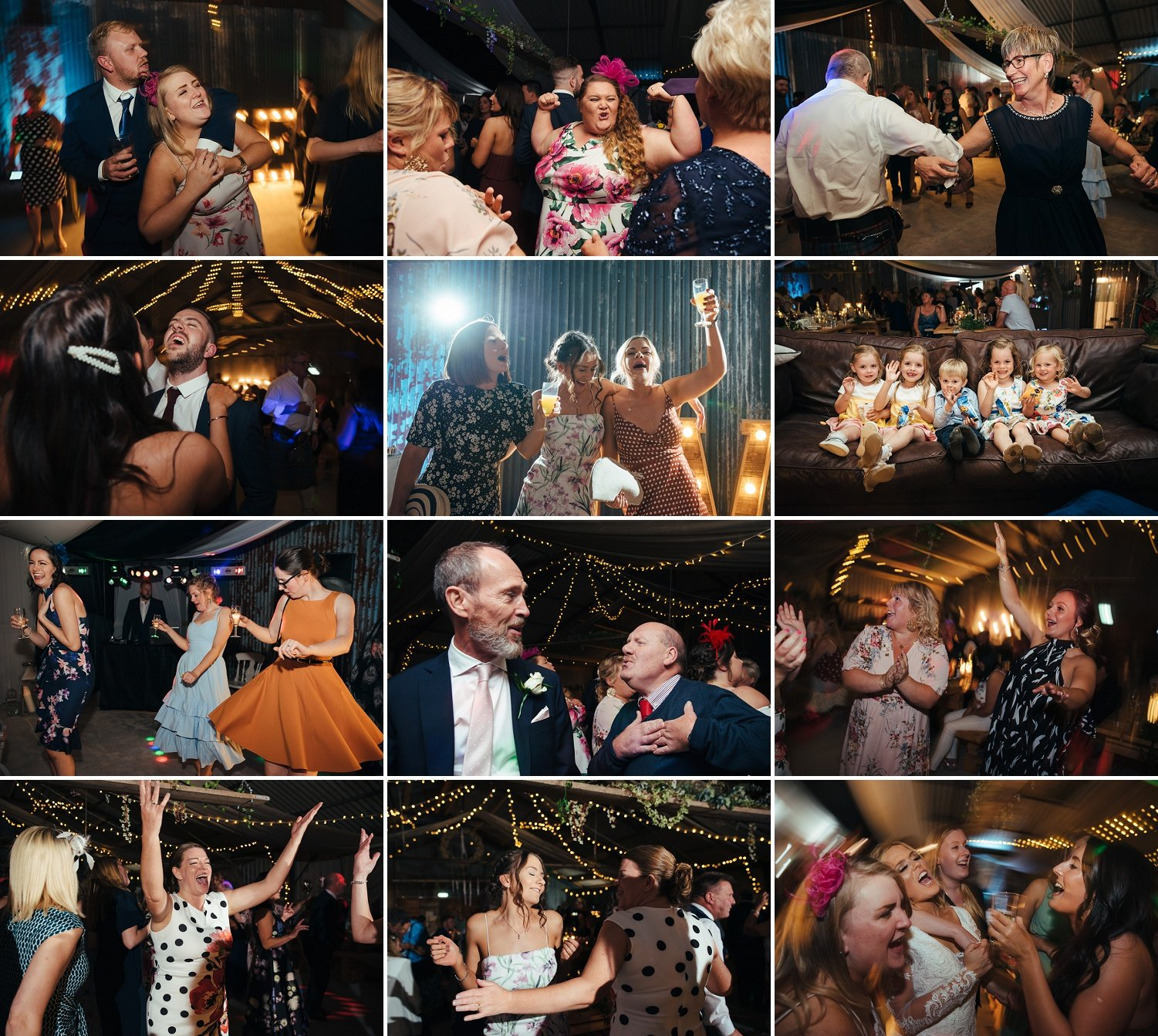 Party at a Barn wedding at the Redbank near Hereford