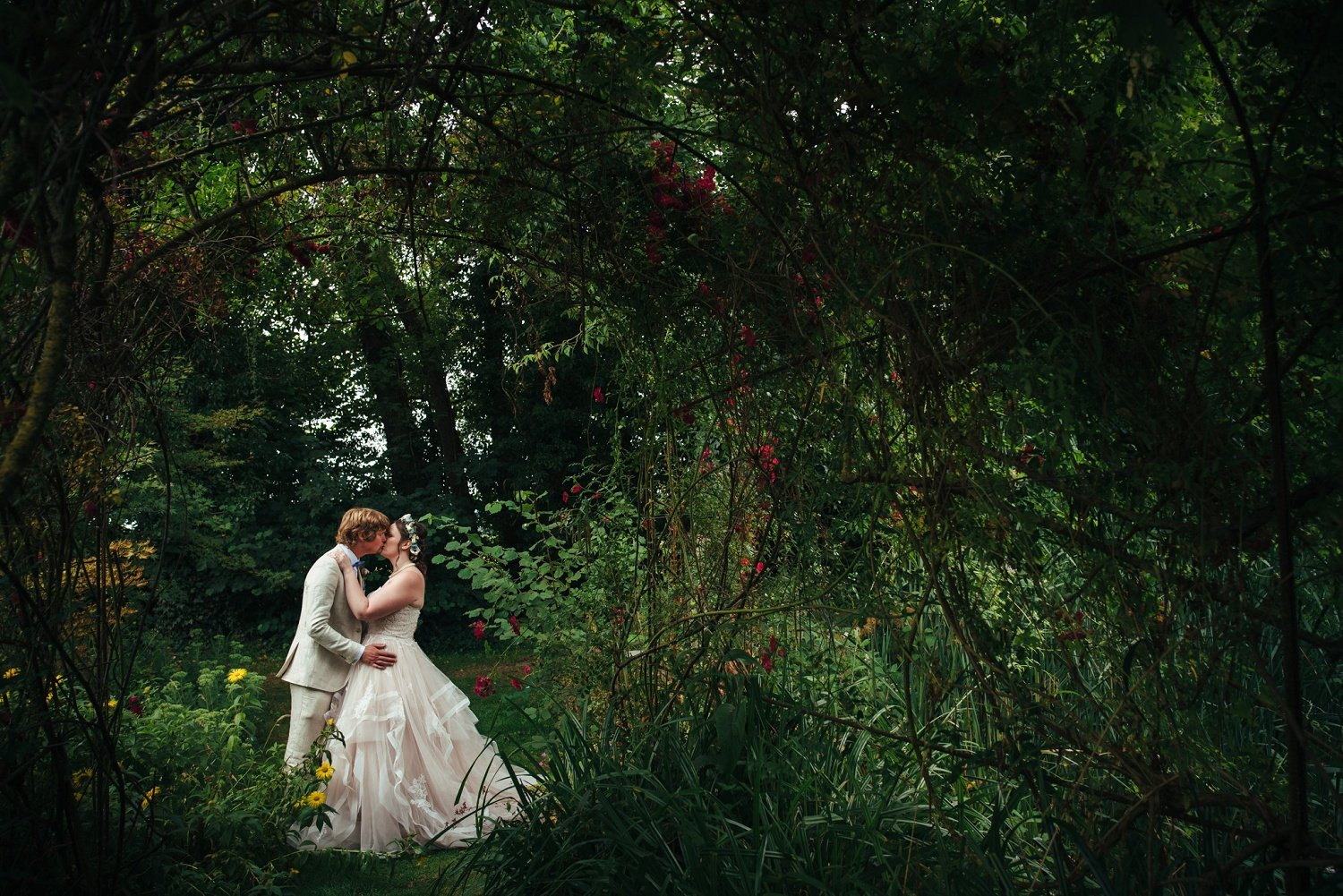 A wedding in the middle of nature