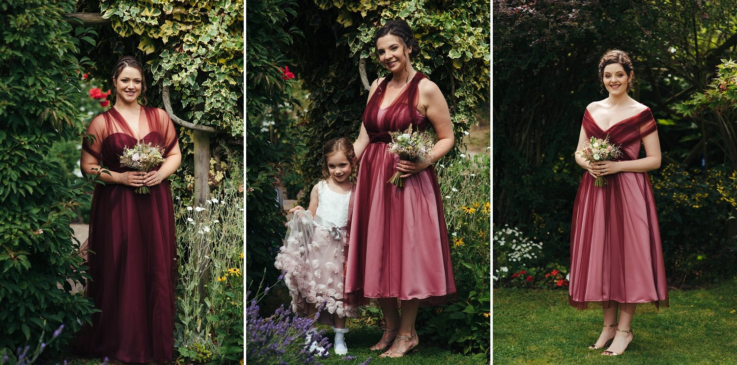 Unique bridesmaids and flower girls dresses by Stephanie Kyles Bridal