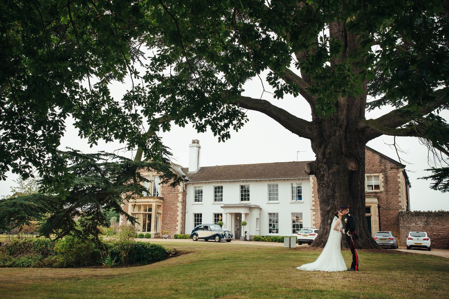 Wedding photos at Glewstone Court in Herefordshire