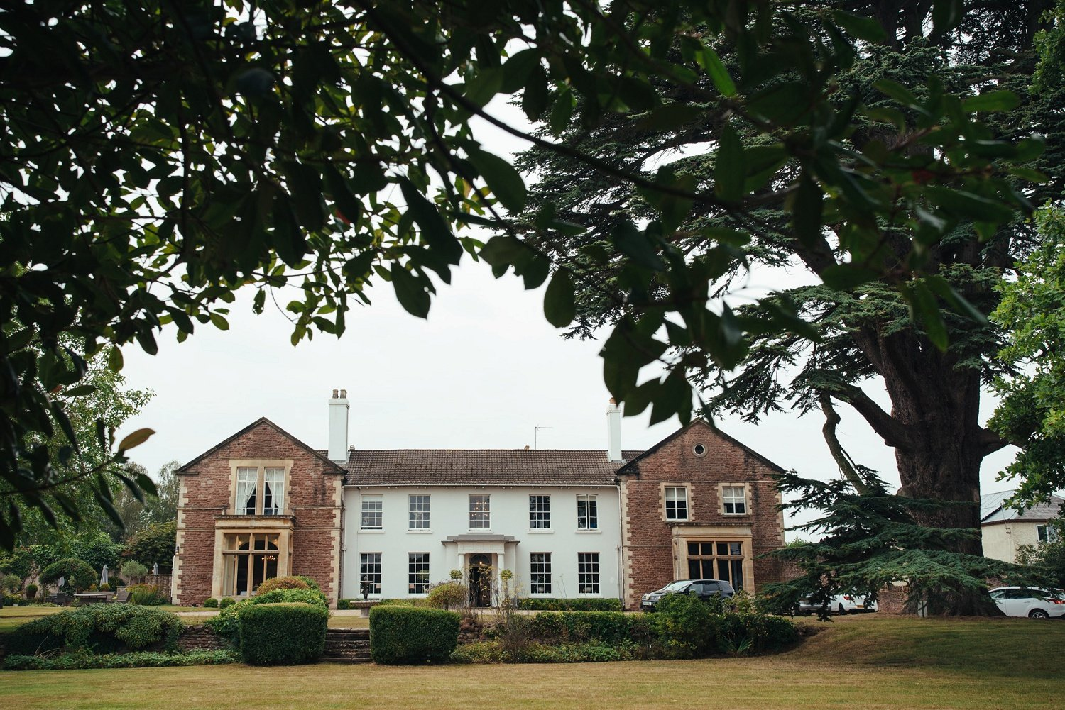 Glewstone Court in Herefordshire ready for an intimate wedding ceremony in August 2020