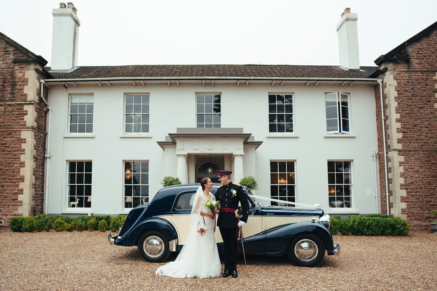 Wedding at Glewstone Court in Herefordshire